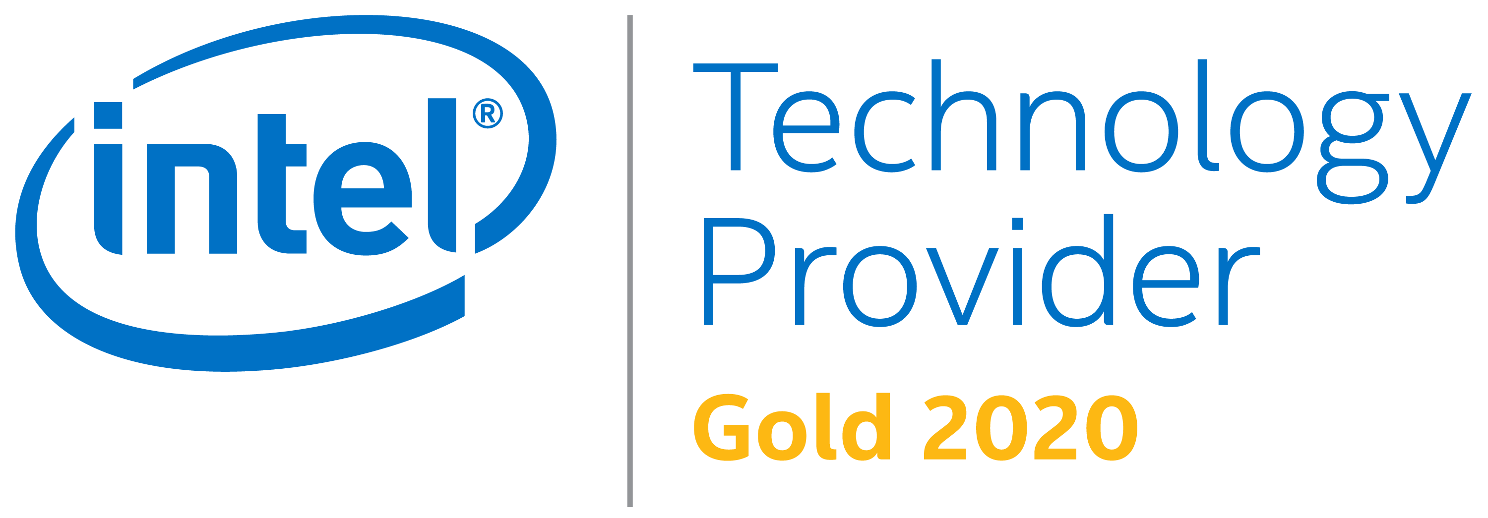 Intel Gold Technology Provider 2018