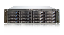 Chenbro 3HE Server Rack RM31616 - front